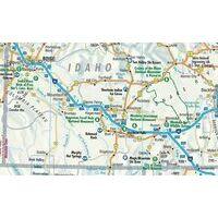 Borch Maps Wegenkaart Pacific Northwest USA