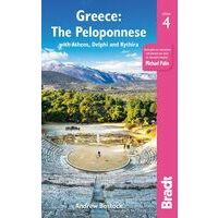 Bradt Travelguides Greece - The Peloponnese - Peloponnesos