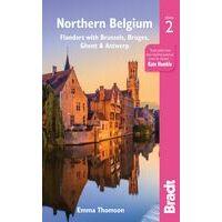 Bradt Travelguides Northern Belgium - Reisgids Vlaanderen En Brussel