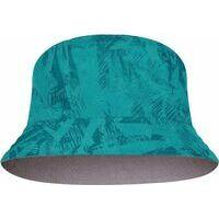 Buff Buff Travel Bucket Hat Collage ACAI Grey-turqu S/M