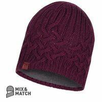 Buff Knitted & Polar Hat Buff Helle Wine