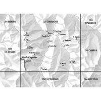 Bundesamt - Swisstopo Topografische Kaart 1345 Orsières
