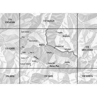 Bundesamt - Swisstopo Topografische Kaart 1177 Serneus