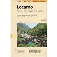 Bundesamt - Swisstopo Topografische Wandelkaart 3308T Locarno