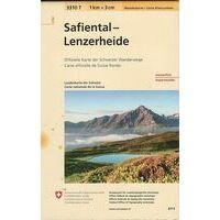 Bundesamt - Swisstopo Topografische Wandelkaart 3310T Safiental