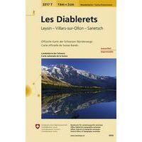 Bundesamt - Swisstopo Topografische Wandelkaart 3317T Diablerets