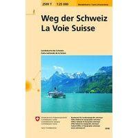 Bundesamt - Swisstopo Wandelkaart 2599T Weg Der Schweiz