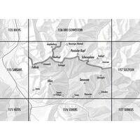 Bundesamt - Swisstopo Topografische Kaart 1156 Schesaplana