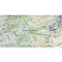 Bundesamt - Swisstopo Topografische Kaart 1247 Adelboden