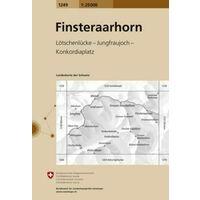 Bundesamt - Swisstopo Topografische Kaart 1249 Finsteraarhorn