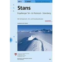 Bundesamt - Swisstopo Skitoerkaart 245S Stans
