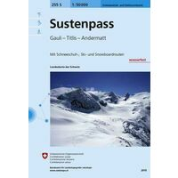 Bundesamt - Swisstopo Skitoerkaart 255S Sustenpass