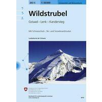 Bundesamt - Swisstopo Skitoerkaart 263S Wildstrubel - Gstaad - Lenk