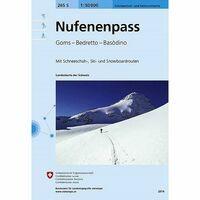 Bundesamt - Swisstopo Skitoerkaart 265S Nufenenpass