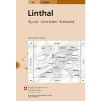Bundesamt - Swisstopo Topografische Kaart 1173 Linthal