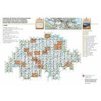 Bundesamt - Swisstopo Topografische Kaart 1175 Vättis