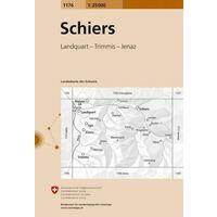 Bundesamt - Swisstopo Topografische Kaart 1176 Schiers
