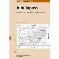 Bundesamt - Swisstopo Topografische Kaart 1237 Albulapass