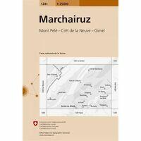 Bundesamt - Swisstopo Topografische Kaart 1241 Marchairuz