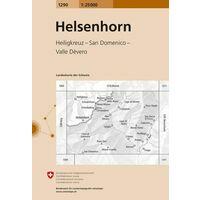 Bundesamt - Swisstopo Topografische Kaart 1290 Helsenhorn