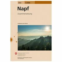 Bundesamt - Swisstopo Topografische Kaart 2522 Napf