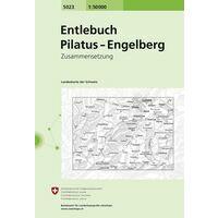 Bundesamt - Swisstopo Topografische Kaart 5023 Entlebuch - Pilatus