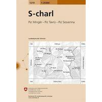 Bundesamt - Swisstopo Topografische Kaart 1219 S-charl