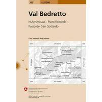 Bundesamt - Swisstopo Topografische Kaart 1251 Val Bedretto