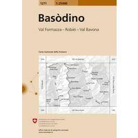 Bundesamt - Swisstopo Topografische Kaart 1271 Basòdino