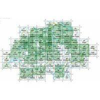Bundesamt - Swisstopo Topografische Kaart 254 Interlaken