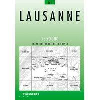 Bundesamt - Swisstopo Topografische Kaart 261 Lausanne