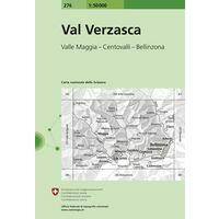 Bundesamt - Swisstopo Topografische Kaart 276 Val Verzasca