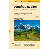 Bundesamt - Swisstopo Topografische Wandelkaart 3323T Jungfrau Region