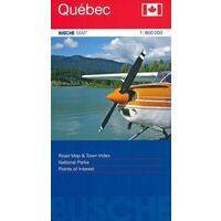Busche Maps Wegenkaart Quebec