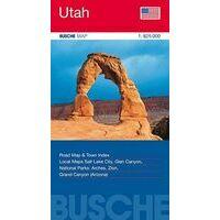 Busche Maps Wegenkaart Utah