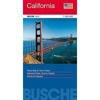Busche Maps Wegenkaart California