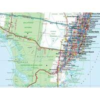 Busche Maps Wegenkaart Florida