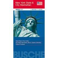 Busche Maps Wegenkaart New York State