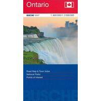 Busche Maps Wegenkaart Ontario