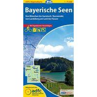 BVA-ADFC Fietskaart Bayerische Seen