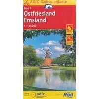 BVA-ADFC Fietskaart 05 Ostfriesland Emsland