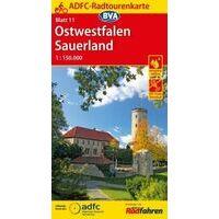 BVA-ADFC Fietskaart 11 Ostwestfalen - Sauerland