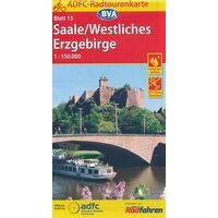 BVA-ADFC Fietskaart 13 Saale Westliches Erzgebirge