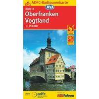 BVA ADFC Fietskaart 18 Oberfranken - Vogtland
