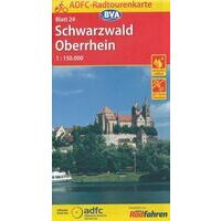 BVA-ADFC Fietskaart 24 Schwarzwald Oberrhein 1:150.000