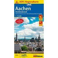BVA ADFC Fietskaart Aachen - Dreiländereck