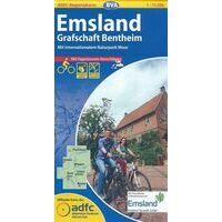 BVA-ADFC Fietskaart Emsland - Grafschaft Bentheim