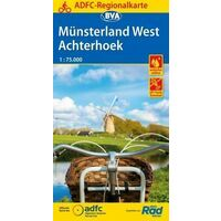 BVA ADFC Fietskaart Münsterland West - Achterhoek