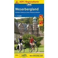 BVA-ADFC Fietskaart Regionalkarte Weserbergland