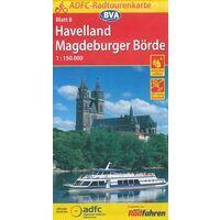 BVA-ADFC Fietskaart 08 Havelland 1:150.000